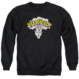 Warheads Logo - Adult Crewneck Sweatshirt - Black