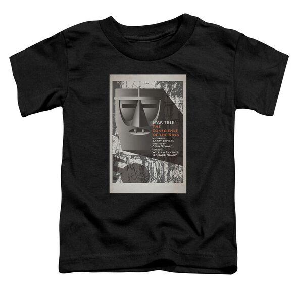 Star Trek Tos Episode 13 Short Sleeve Toddler Tee Black Sm T-Shirt