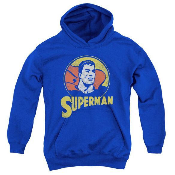 Dc Super Circle Youth Pull Over Hoodie
