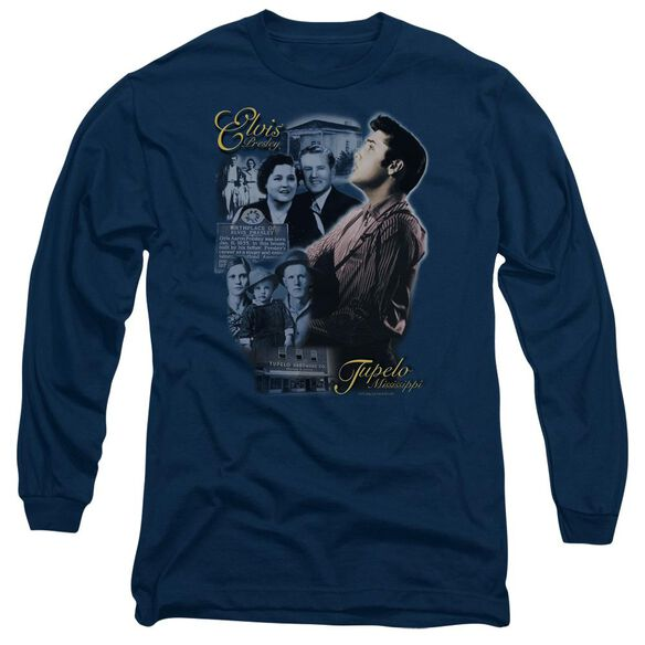 Elvis Presley Tupelo Long Sleeve Adult T-Shirt