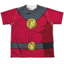 Batman Unlimited Robin Uniform Short Sleeve Youth Poly Crew T-Shirt