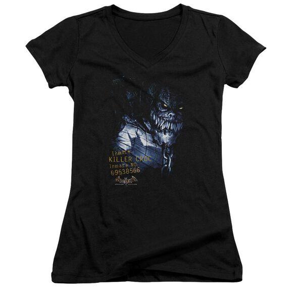 Batman Aa Arkham Killer Croc Junior V Neck T-Shirt
