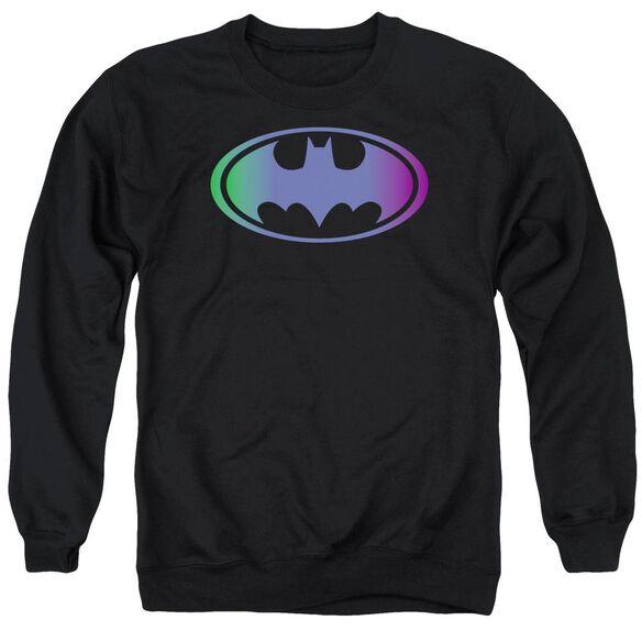 Batman Gradient Bat Logo Adult Crewneck Sweatshirt