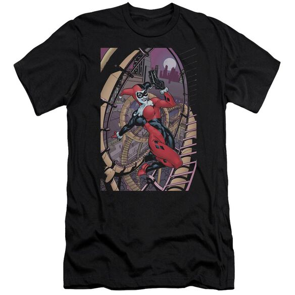 Batman Harley First Short Sleeve Adult T-Shirt