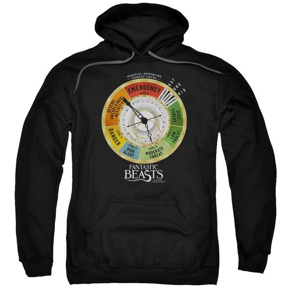 Fantastic Beasts Threat Gauge Adult Pull Over Hoodie