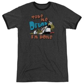 Hagar The Horrible Take Me Home - Adult Heather Ringer - Charcoal