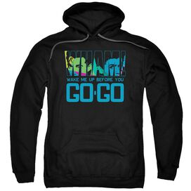 Wham Wake Me Up Before You Go Go Adult Pull Over Hoodie