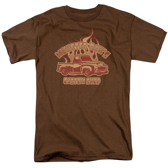 MONSTER BOBS CUSTOM SHOP - ADULT 18/1 - COFFEE T-Shirt