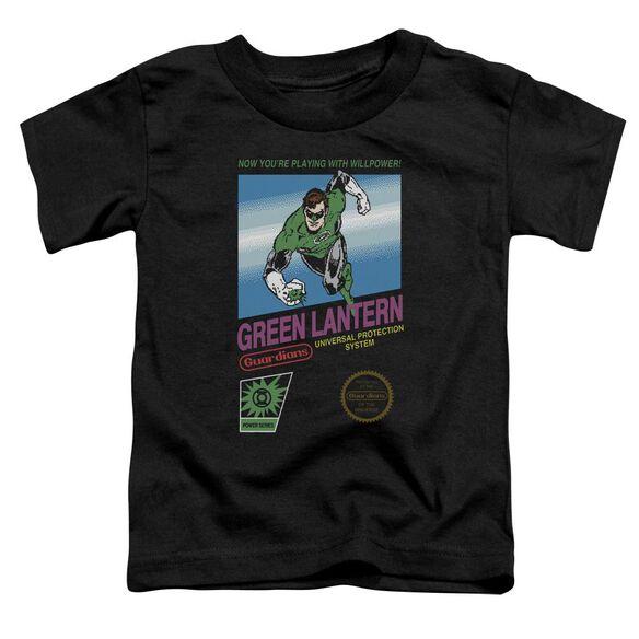 Green Lantern Box Art Short Sleeve Toddler Tee Black Md T-Shirt