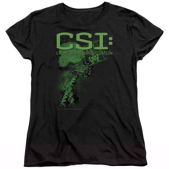 CSI EVIDENCE - S/S WOMENS TEE - BLACK T-Shirt