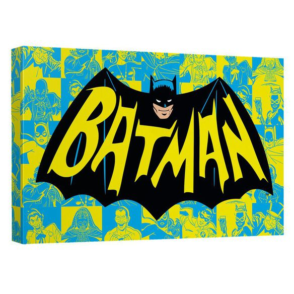 Batman Classic Tv Classic Tv Show Logo Quickpro Artwrap Back Board
