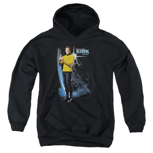 Star Trek Galactic Kirk Youth Pull Over Hoodie