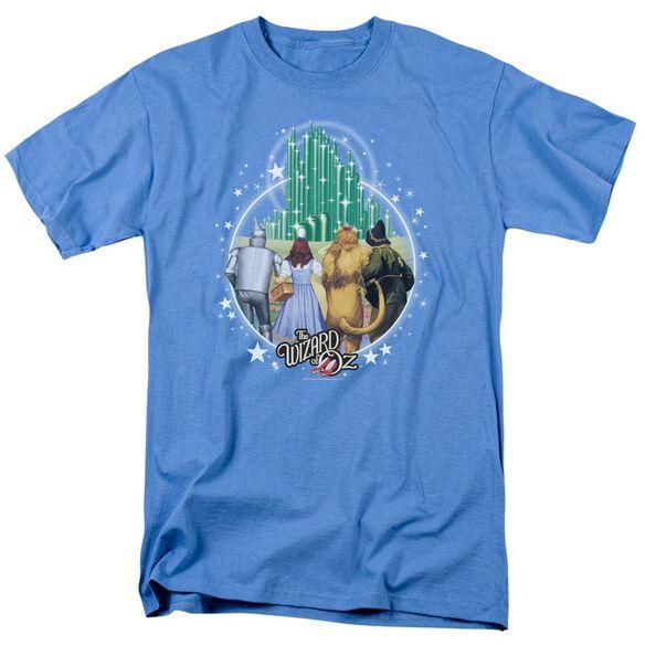 Wizard Of Oz Emerald City Short Sleeve Adult Carolina T-Shirt