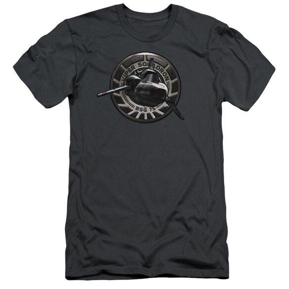 BSG VIPER SQUADRON - S/S ADULT 30/1 - CHARCOAL T-Shirt