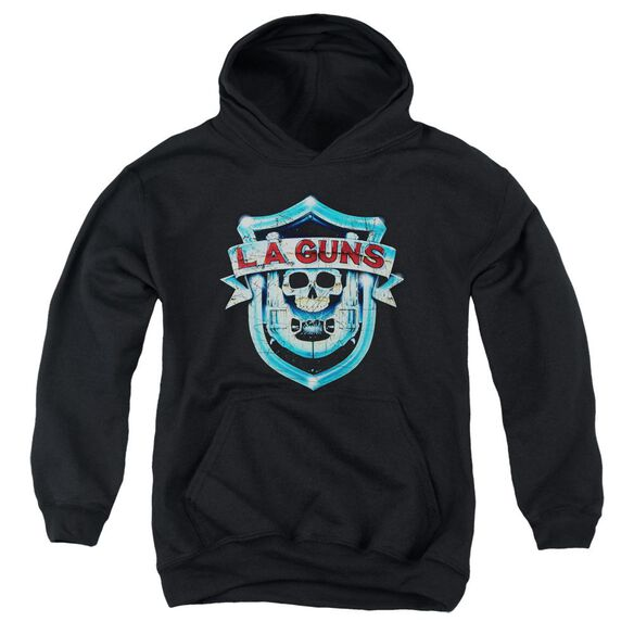 La Guns La Guns Shield Youth Pull Over Hoodie