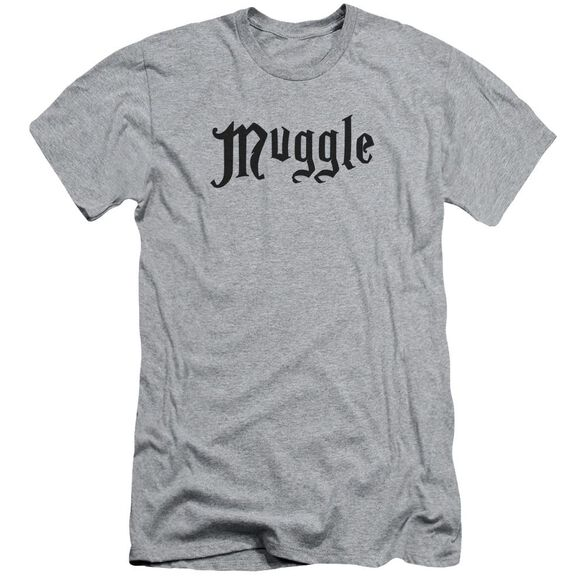 Harry Potter Muggle Short Sleeve Adult Athletic T-Shirt