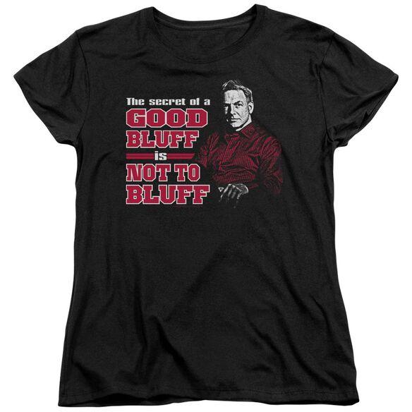 Ncis No Bluffing Short Sleeve Women's Tee T-Shirt