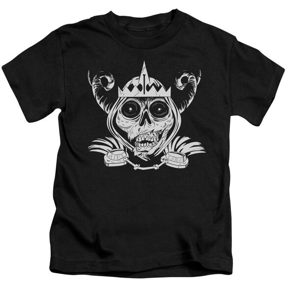 Adventure Time Skull Face Short Sleeve Juvenile T-Shirt