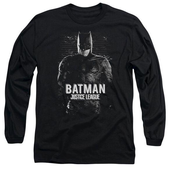 Justice League Movie Batman Long Sleeve Adult T-Shirt
