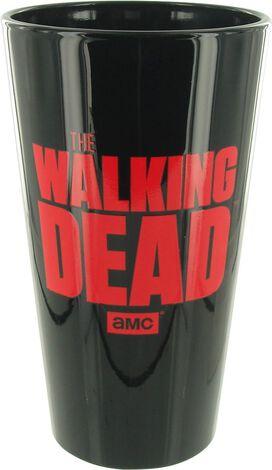 Walking Dead Daryl Black Pint Glass