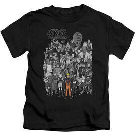 Naruto Characters Short Sleeve Juvenile T-Shirt