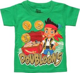 Jake and Never Land Pirates Doubloons Toddler Shirt