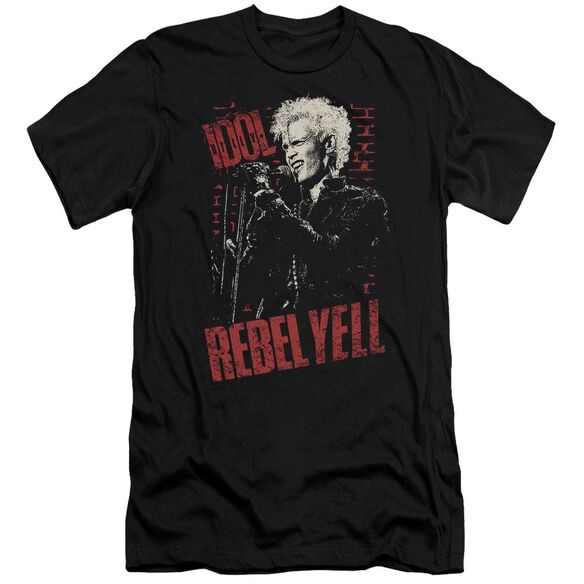 Billy Idol Brick Wall Short Sleeve Adult T-Shirt