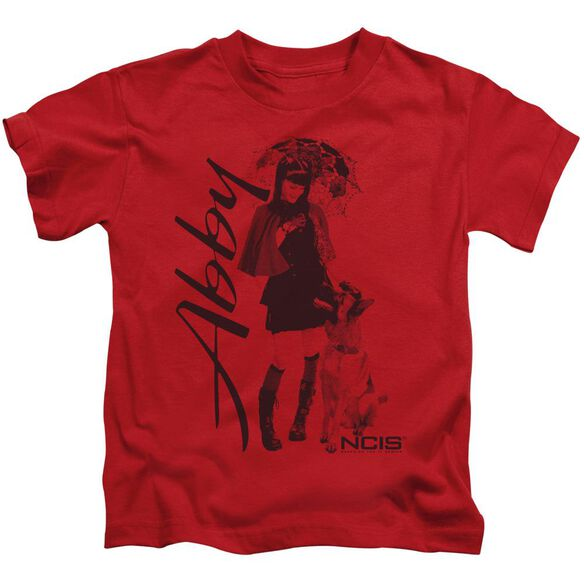 Ncis Sunny Day Short Sleeve Juvenile Red T-Shirt