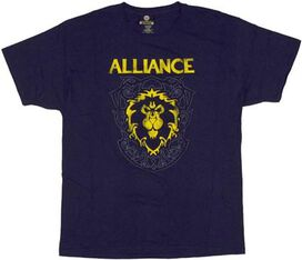 World of Warcraft Alliance Crest T-Shirt