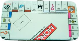 Monopoly Board Clutch Wallet