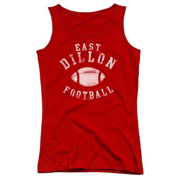 Friday Night Lights East Dillon Football Juniors Tank Top