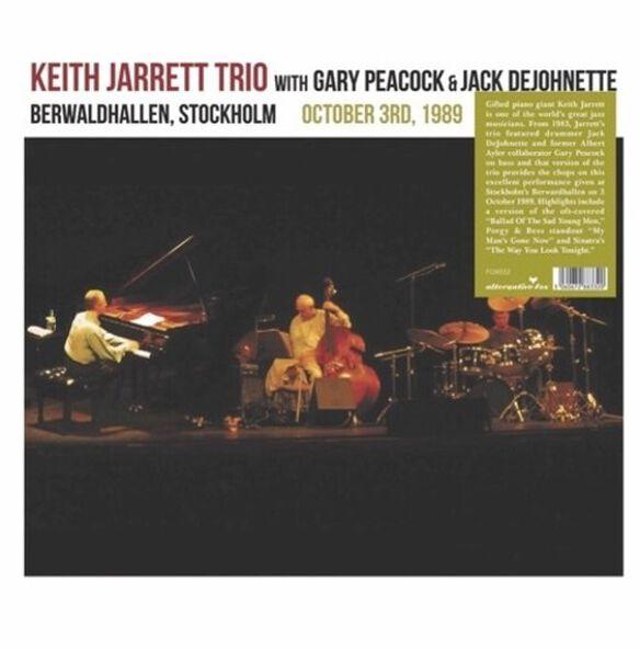 Keith Jarrett - Berwardhallen, Stockholm October 3rd