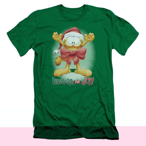 GARFIELD UNWRAP THE JOY!-S/S ADULT T-Shirt