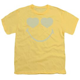 Smiley World Eyes For You Short Sleeve Youth T-Shirt
