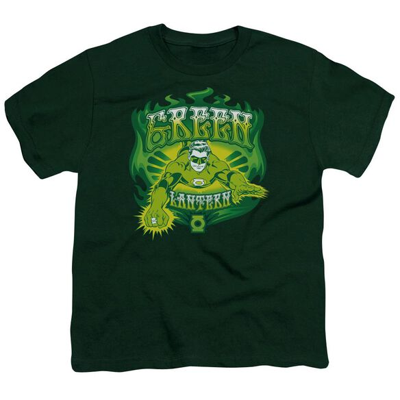 Dc Flames Short Sleeve Youth Hunter T-Shirt