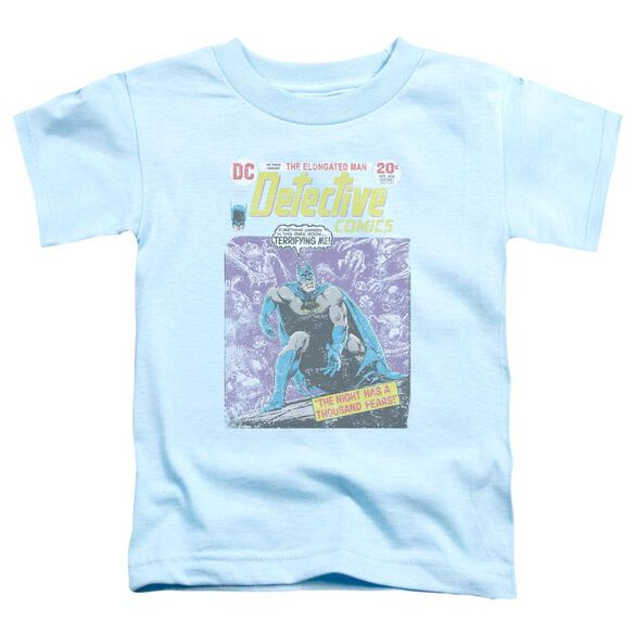 Batman A Thousand Fears Short Sleeve Toddler Tee Light Blue Sm T-Shirt