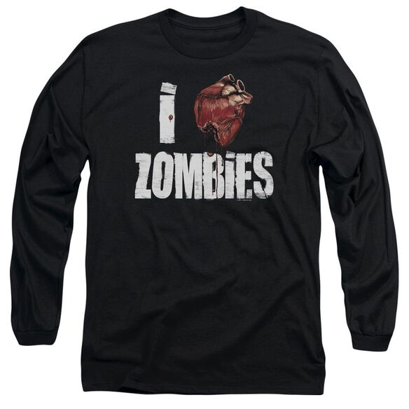 I Bloody Heart Zobmies Long Sleeve Adult T-Shirt