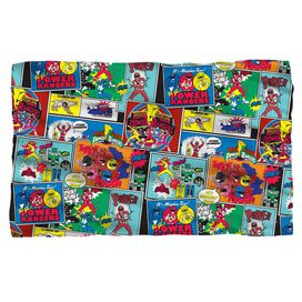 Power Rangers Pattern Fleece Blanket