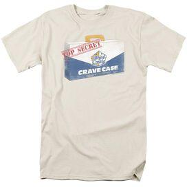 White Castle Crave Case Short Sleeve Adult Cream T-Shirt