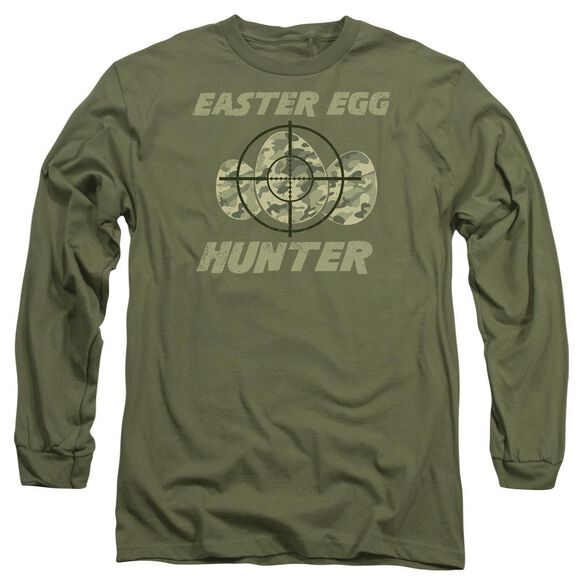 The Hunt Long Sleeve Adult Military T-Shirt
