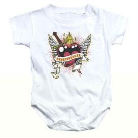 Heartbreaker - Infant Snapsuit - White - Md