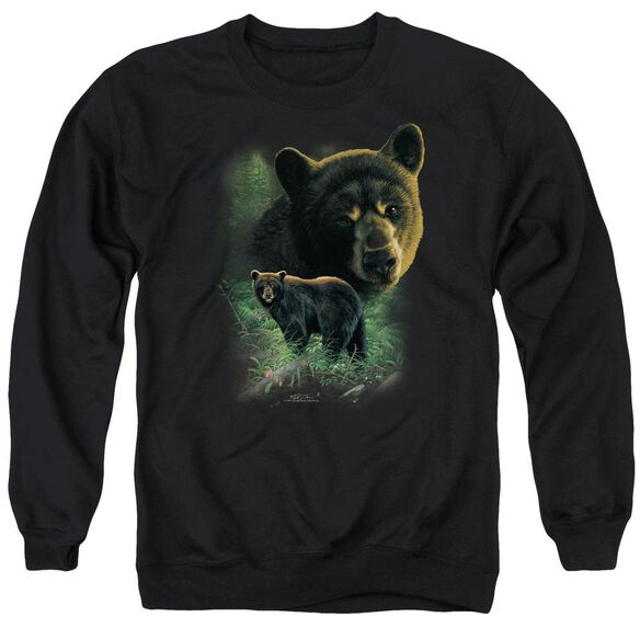 Wildlife Bears Adult Crewneck Sweatshirt
