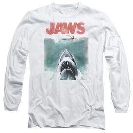 JAWS VINTAGE POSTER-L/S T-Shirt