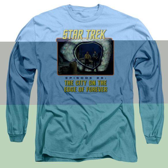 ST ORIGINAL EDGE OF FOREVER-L/S ADULT T-Shirt