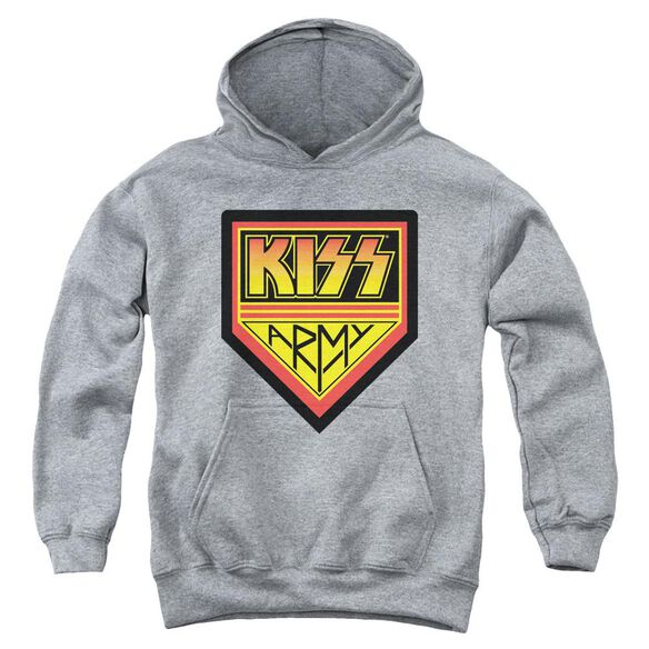 Kiss Army Logo Youth Pull Over Hoodie
