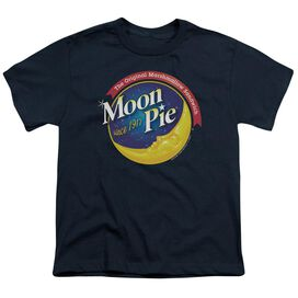 Moon Pie Current Logo Short Sleeve Youth T-Shirt