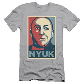 Three Stooges Nyuk Short Sleeve Adult T-Shirt