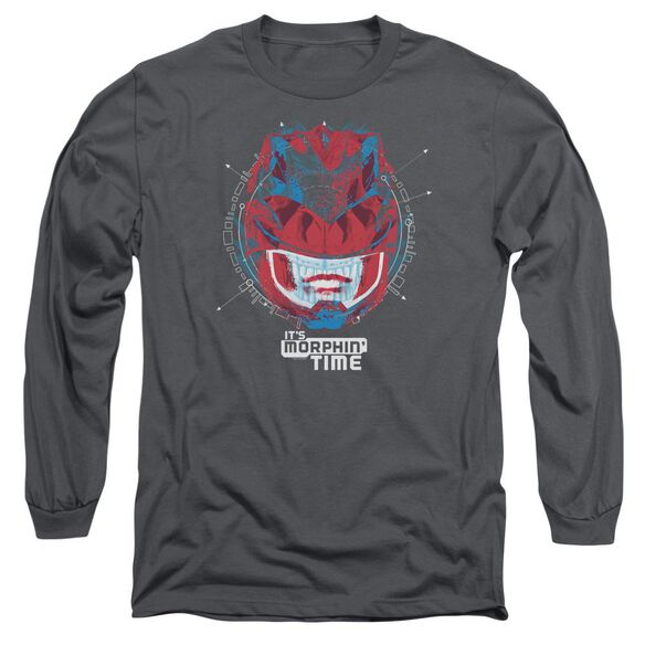Power Rangers Its Morphin Time Long Sleeve Adult T-Shirt