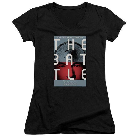 Star Trek Tng Season 1 Episode 9 Junior V Neck T-Shirt