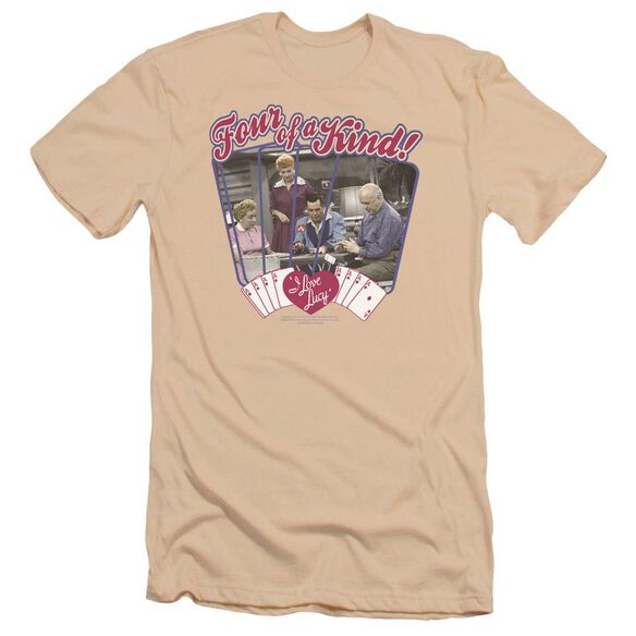I Love Lucy Four Of A Kind Premuim Canvas Adult Slim Fit
